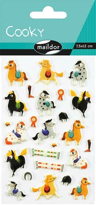 Sticker 3D - Pferde