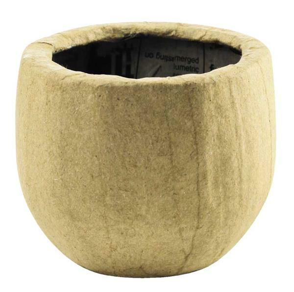 Papier-maché bloempot - 8 cm