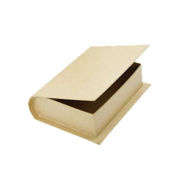 Papier-maché doos - boek klein