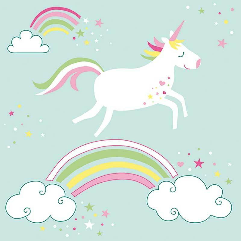 Servietten - 20 Stk./Pkg., Unicorn