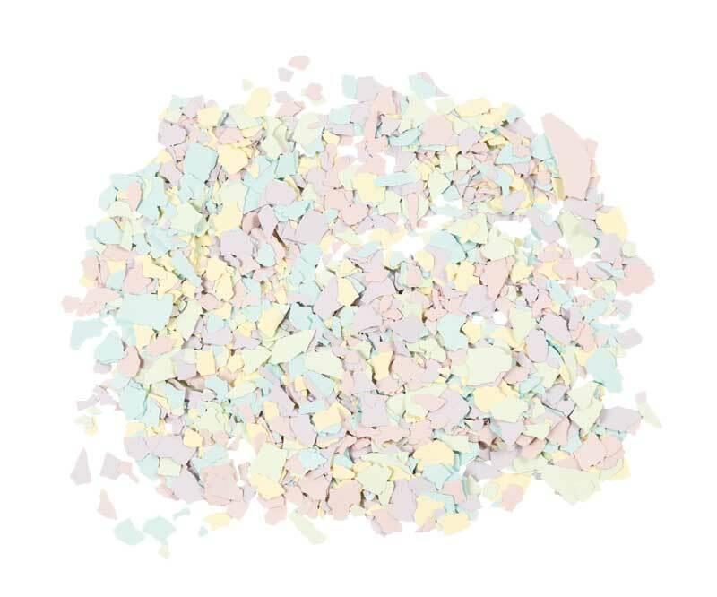 Terrazzo Flakes, pastel