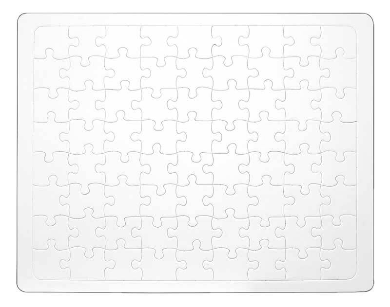 Blanko Puzzle, DIN A3