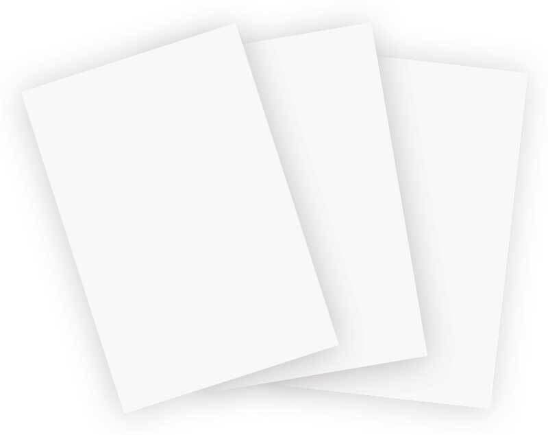 Papier Tyvek® - Papier à voile 21 x 29,7 cm