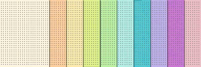 Stick Karton - 10 Blatt, pastell