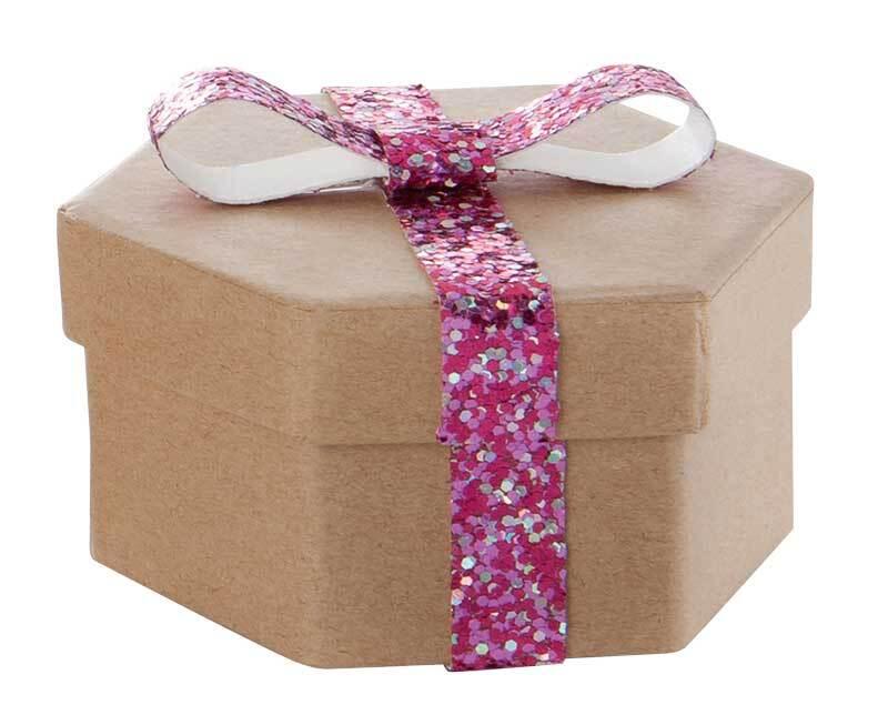 Glitterkarton - grob, 17,5 x 24,5 cm, 5 Blatt