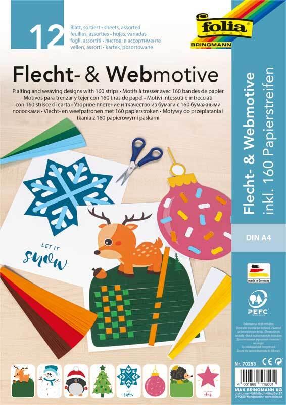 Flecht- und Webmotive Set - Weihnachten