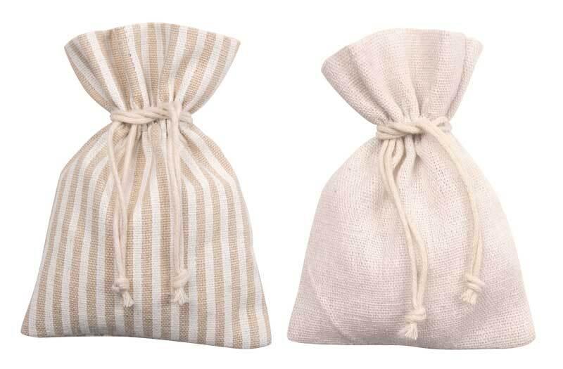 Adventskalender Set - 24 Säckchen aus Baumwolle