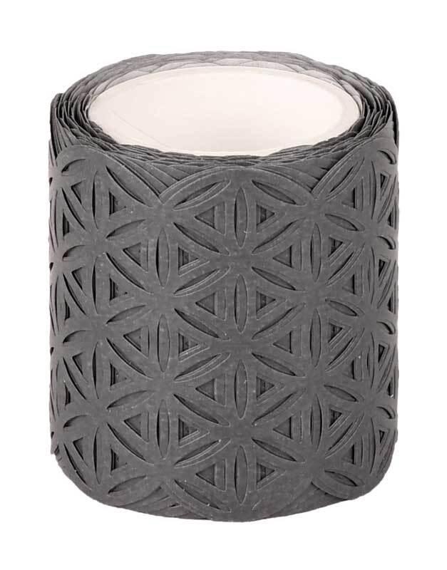 Washi Tape - cirkel, grijs