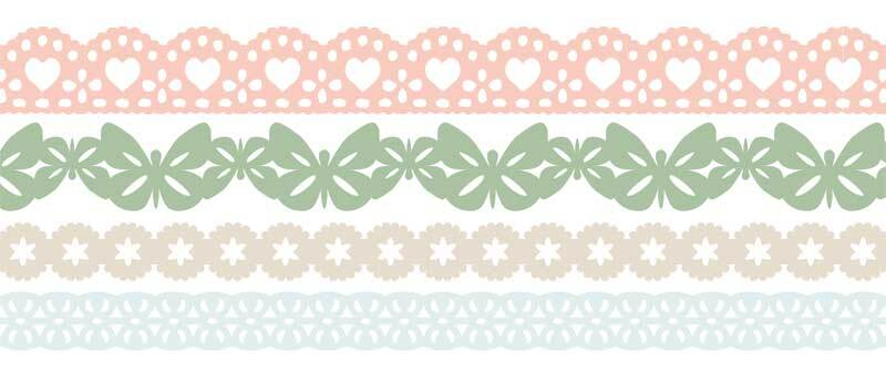 Set Washi Tape - pastel