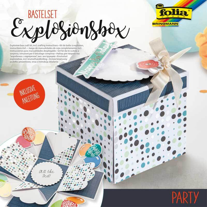 Explosionsbox Bastelset - Party