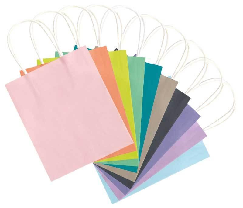 Papiertüten pastell, M