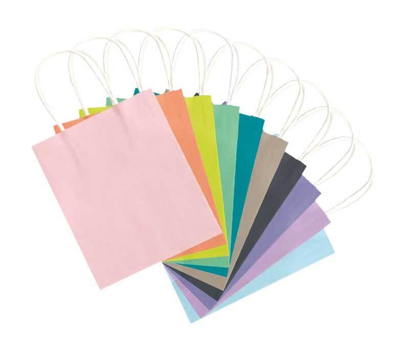Papiertüten pastell, S