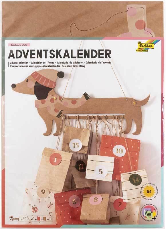 Adventskalender Set - Sausage Dog