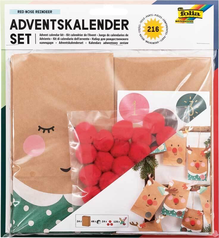 Adventskalender Set - Red Nose Reindeer