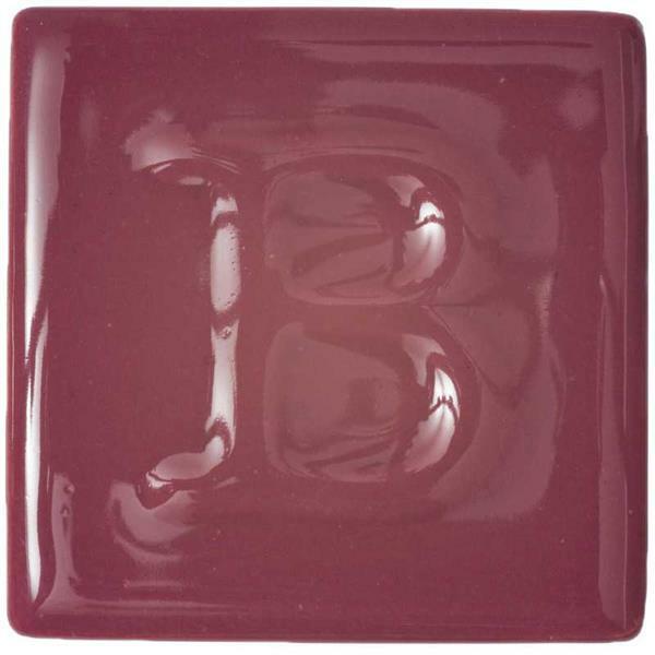 Botz Flüssigglasur - glänzend, brombeerrot