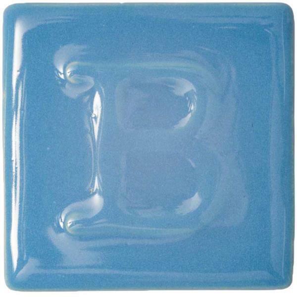 Botz glaçure liquide - brillant, bleu ciel