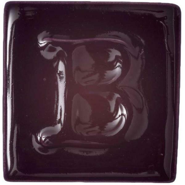 Botz glaçure liquide - brillant, aubergine