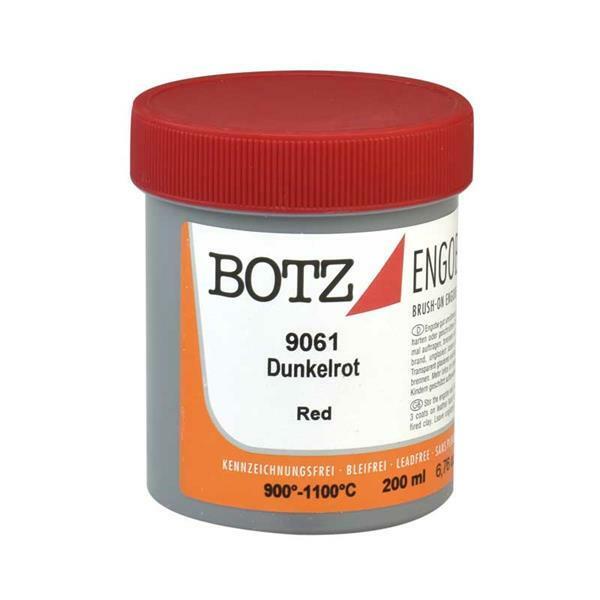 Botz Engoben - 200 ml, dunkelrot