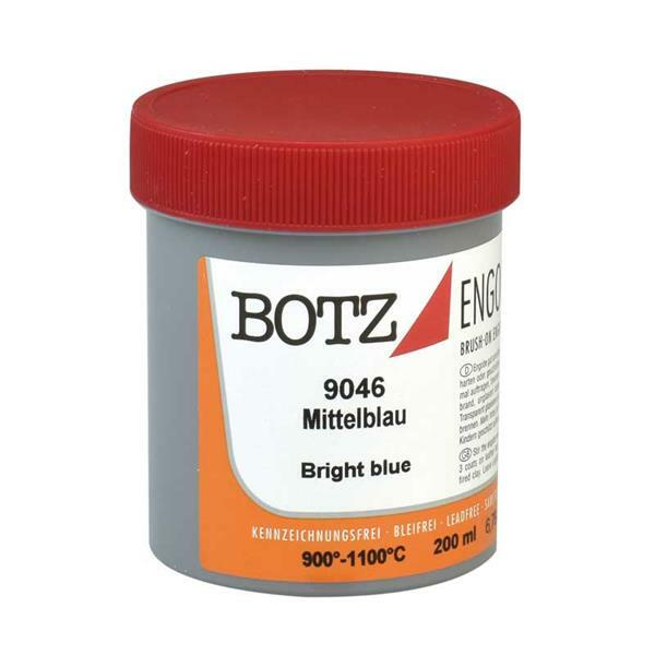 Botz Engobe - 200 ml, medium blauw