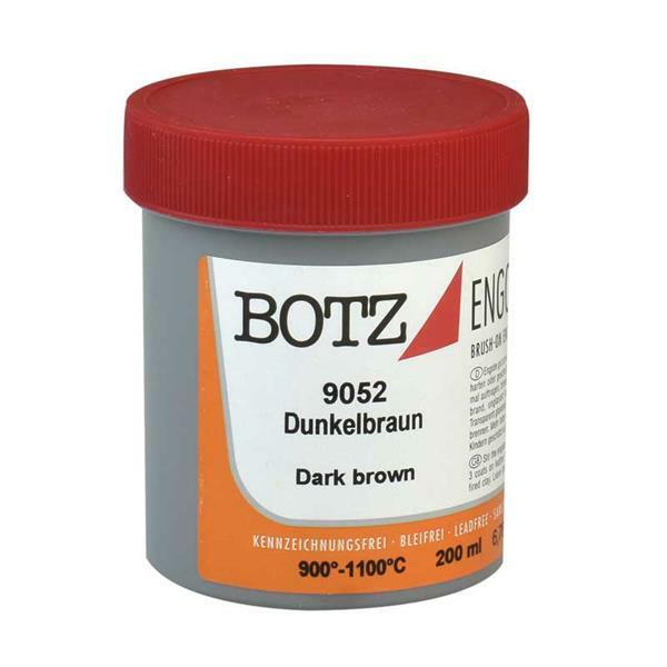 Botz Engobe - 200 ml, donkerbruin