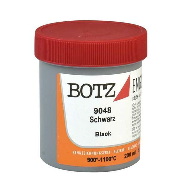 Botz Engoben - 200 ml, schwarz