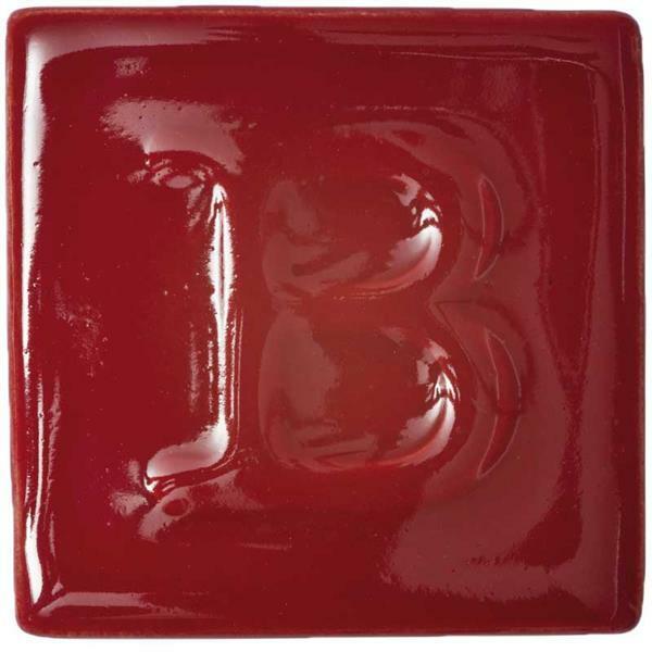 Botz glaçure liquide - brillant, rouge laqué