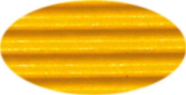 Golfkarton - 50 x 70 cm, 10 vel, goudgeel