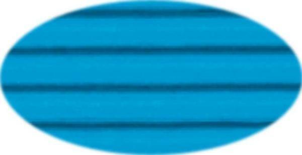 Wellpappe - 50 x 70 cm, 10 Bg., pazifikblau