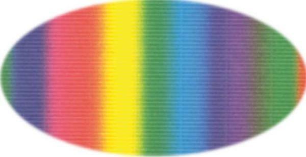 Golfkarton - 50 x 70 cm, 1 stuk, regenboog