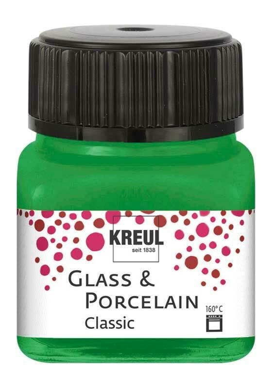 Porzellanfarbe - 20 ml, franz. grün