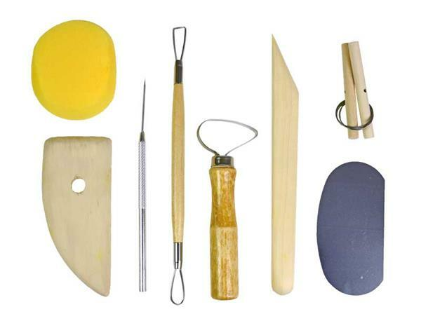 Töpfer Werkzeug, 8-teilig