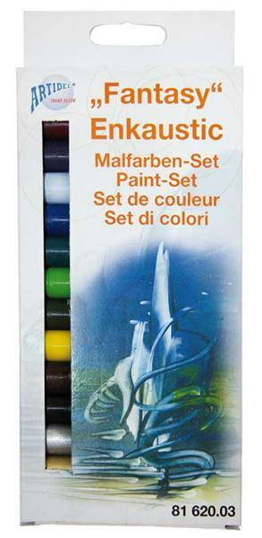 Encaustiek waskleuren set, fantasie