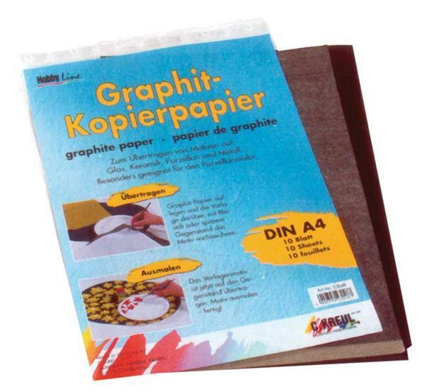 Graphitpapier - A4, 10 Blatt