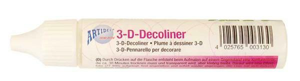3D Decoliner - Folie kleefpen - 30 ml