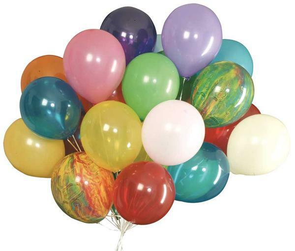 Ballons gonflables - Ø env. 15 cm