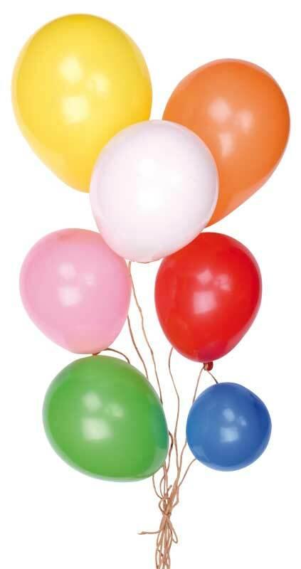 Luchtballonnen Ø ca. 15 cm