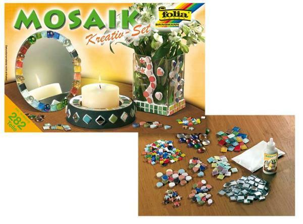 Mosaik Jumbo-Kreativ-Set, 282 tlg.