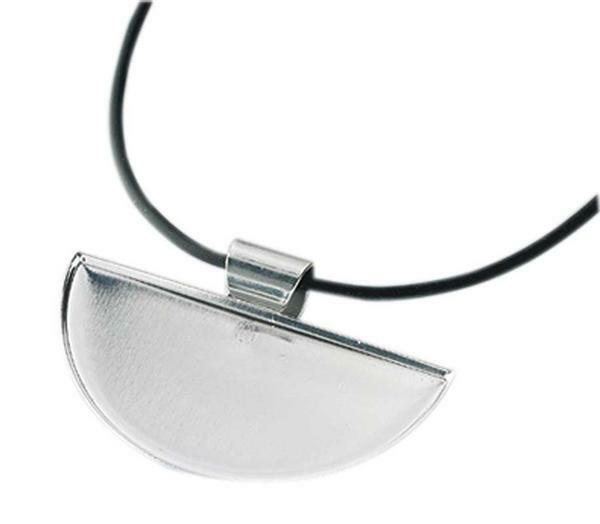 Collier mosaïque avec bande bijoux, demi-rond