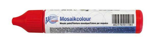 Mosaik Color liquide - 30 ml, rouge