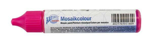 Mozaïekcolour - 30 ml, zuurstokroze