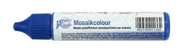 Mosaikcolour - 30 ml, dunkelblau