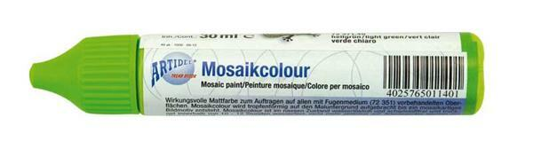 Mosaikcolour - 30 ml, hellgrün