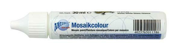 Mosaikcolour - 30 ml, weiß