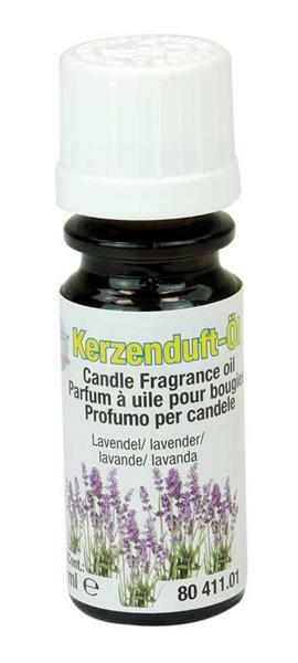 Kerzen Duftöl - 10 ml, Lavendel
