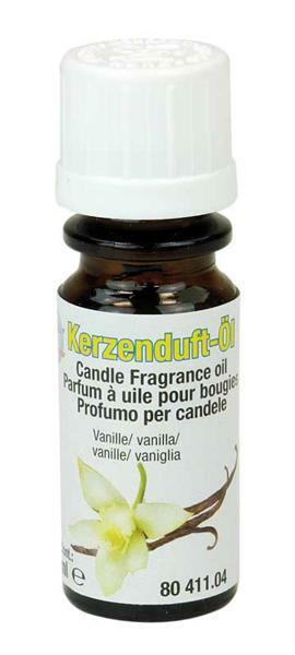 Huile parfumée pour bougie - 10 ml, vanille