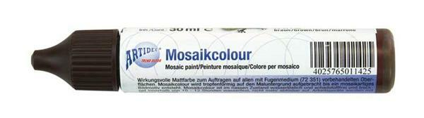 Mosaikcolour - 30 ml, braun