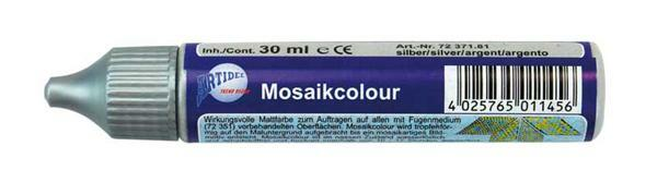 Mozaïekcolour - 30 ml, zilver