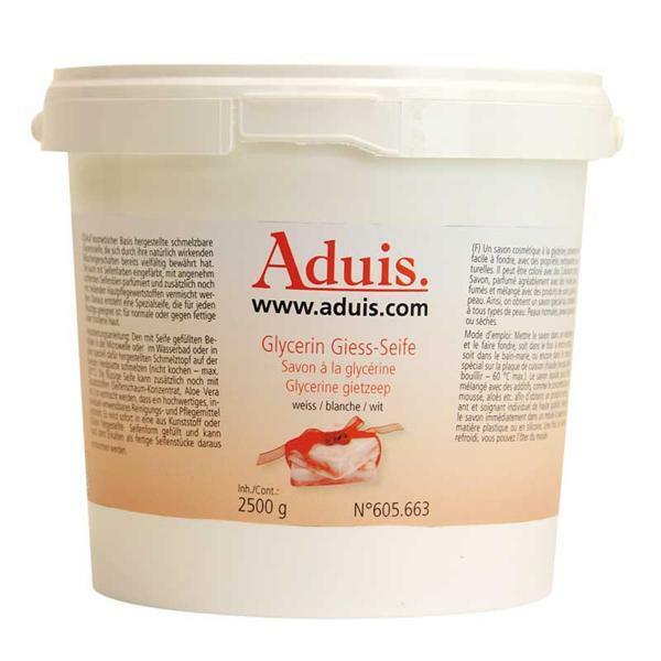 Savon à la glycérine Aduis - blanc, 2500 g