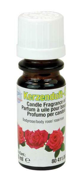 Kaarsen geurolie - 10 ml, roos