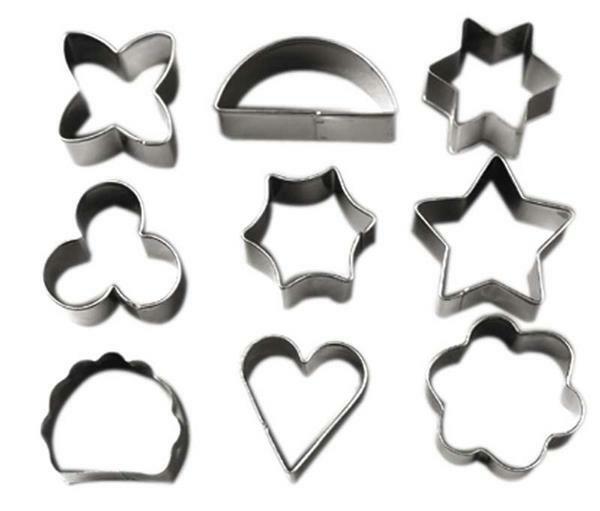 Emporte-pièces, diverses formes